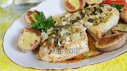 Фото рецепта Рыба с оливками и каперсами