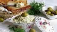 Фото рецепта Бутербродная паста с оливками