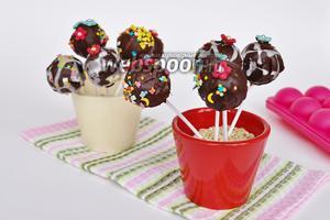 Кейк попсы ванильные