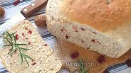 Фото рецепта Хлеб с клюквой и орехами