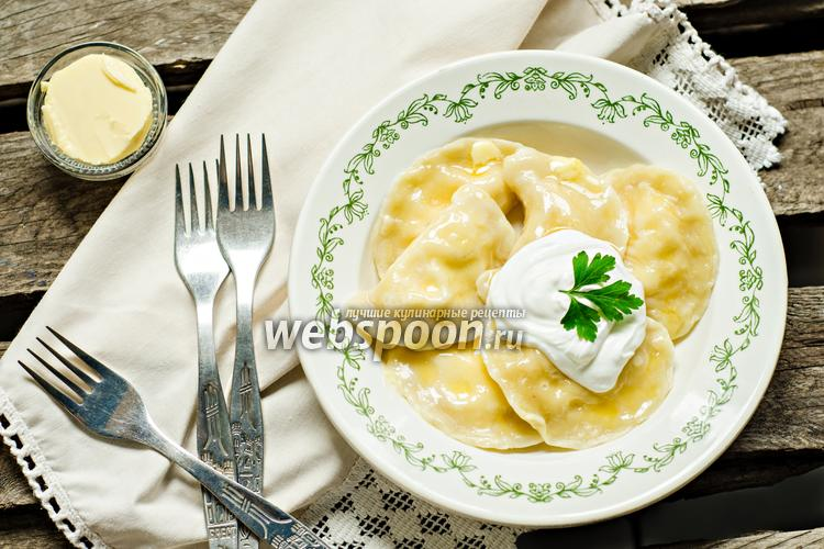 Фото Вареники с сыром
