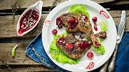 Фото рецепта Утка с вишней