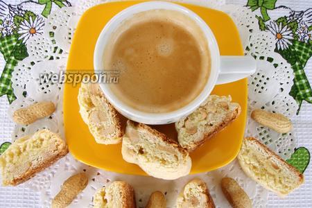Кантуччи (cantucci) с арахисом