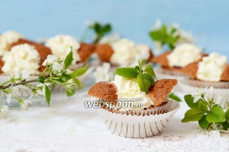 Фото рецепта Кексы «Бабочки»