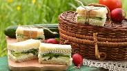 Фото рецепта Сэндвич с огурцами