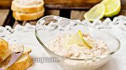 Фото рецепта Лёгкая закуска из печени трески