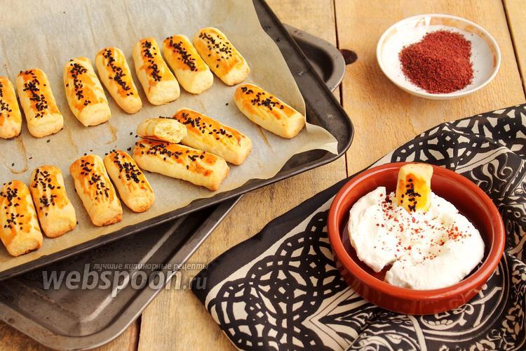 Фото Домашнее солёное печенье