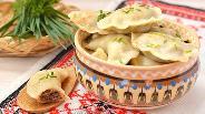 Фото рецепта Вареники с печенью