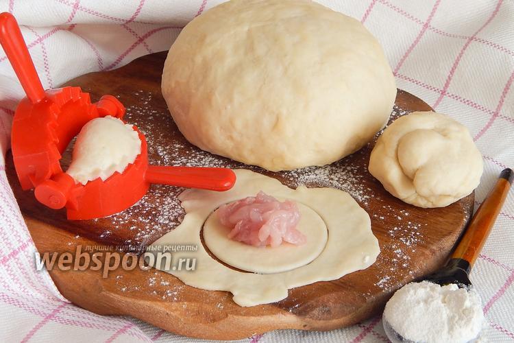 Фото Пельменное тесто на сметане