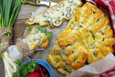 Ароматный хлеб с крапивой
