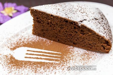 Маковый пирог с корицей