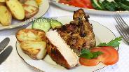 Фото рецепта Антрекоты свиные в духовке