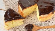 Фото рецепта Зеркальная шоколадная глазурь