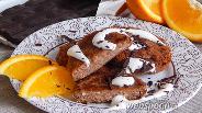Фото рецепта Апельсиново-шоколадные сырники