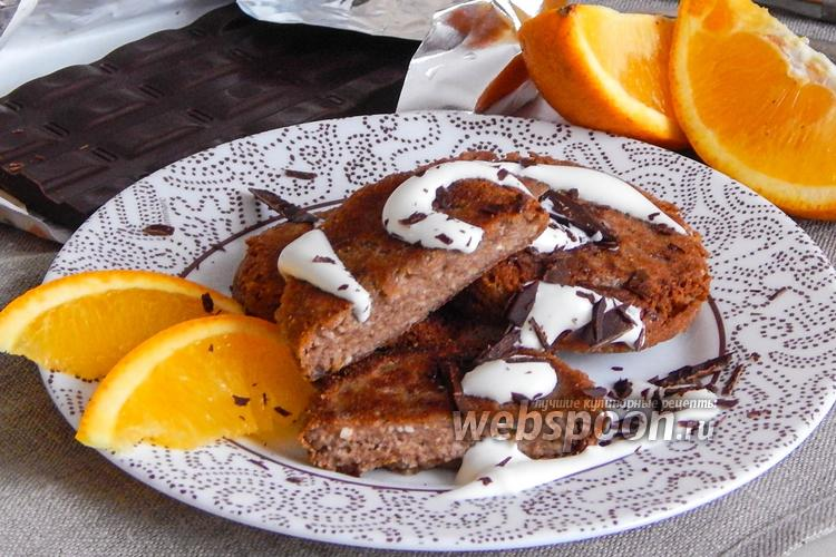 Фото Апельсиново-шоколадные сырники
