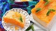 Фото рецепта Творожно-апельсиновая запеканка