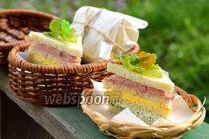 Полосатый бутерброд