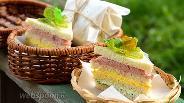 Фото рецепта Полосатый бутерброд