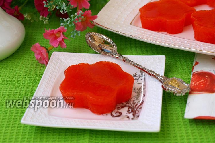Фото Морковное желе с цитрусовыми