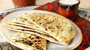 Фото рецепта Гутабы с мокрицей по-азербайджански