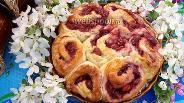 Фото рецепта Вишнёвый пирог на творожном тесте