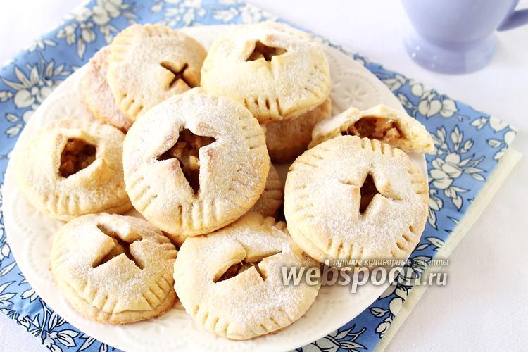 Фото Печенье с яблочной начинкой