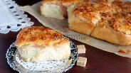 Фото рецепта Малиновые улитки с миндальными лепестками
