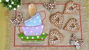 Фото рецепта Шоколадно-ореховые коржики из цельнозерновой муки