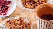 Фото рецепта Творожно-геркулесовое печенье «Лисички»