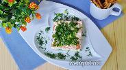 Фото рецепта Салат с кальмарами и помидорами