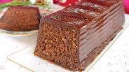 Фото рецепта Шоколадный кекс на минералке