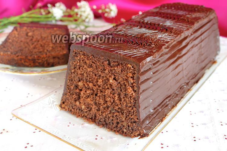Фото Шоколадный кекс на минералке