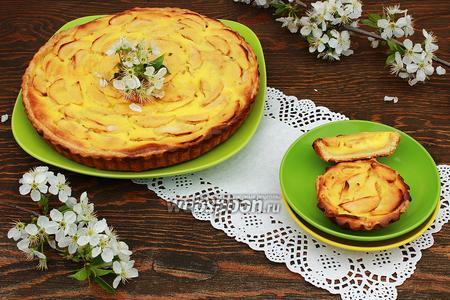 Фото рецепта Яблочный пирог-киш