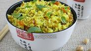 Фото рецепта Рисовый салат с фисташками и мятой