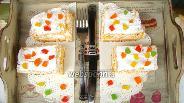 Фото рецепта Морковные пирожные со сливками