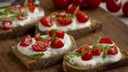 Фото рецепта Тосты с помидорами