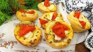 Фото рецепта Слойки с помидорами и брынзой