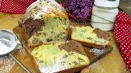 Фото рецепта Разноцветный кекс