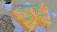 Фото рецепта Торт «Бабочка»