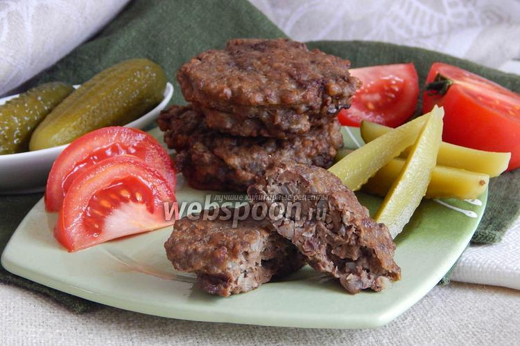 Фото Гречаники с печенью