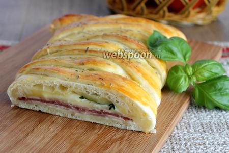 Итальянский пирог Стомболли