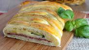 Фото рецепта Итальянский пирог Стомболли