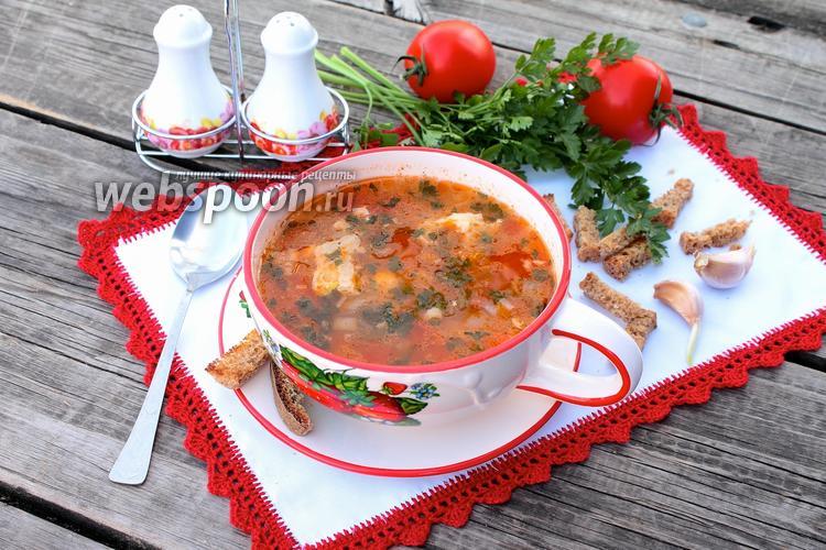 Фото Суп харчо из свинины