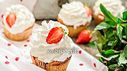 Фото рецепта Лимонно-клубничные кексы