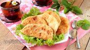 Фото рецепта Чебуреки с капустой