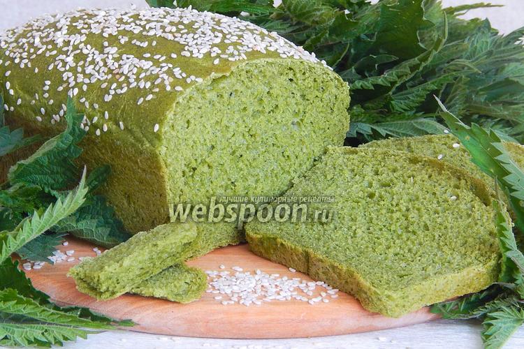 Фото Крапивный хлеб