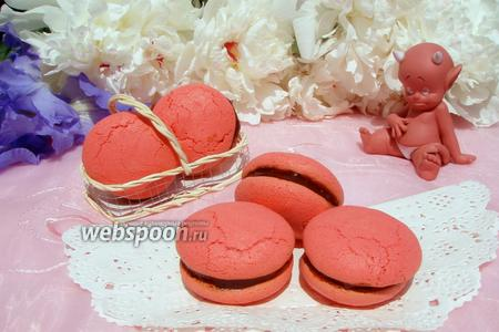 Печенье Red Macarons