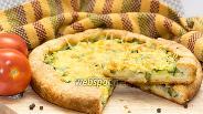 Фото рецепта Пирог с цуккини и сыром