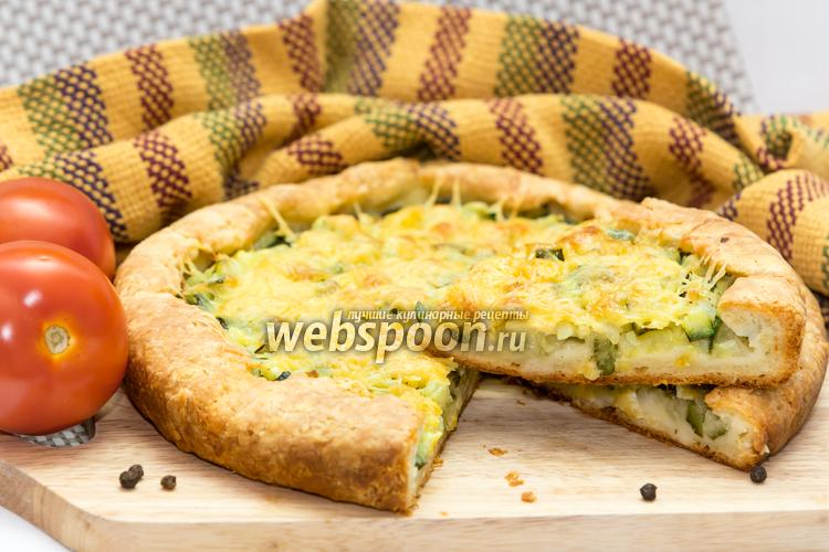 Фото Пирог с цуккини и сыром