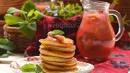 Фото рецепта Ванильные оладьи на пахте